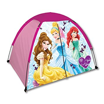 Exxel Indoor/ Outdoor Disney Princess 2-Pole Dome C&ing / Play Tent With Floor  sc 1 st  Amazon.com & Amazon.com: Exxel Indoor/ Outdoor Disney Princess 2-Pole Dome ...