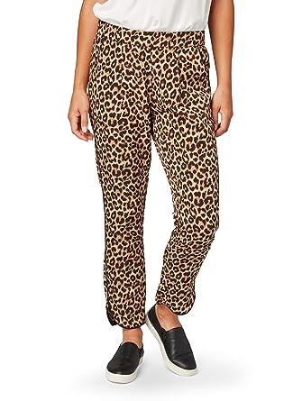 TOM TAILOR Damen Hose Loose Fit Pants Ankle  Amazon.de  Bekleidung a989a73fa9