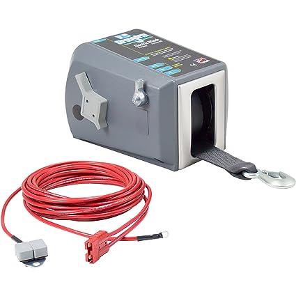 120 Volt Winch >> Amazon Com Goldenrod Dutton Lainson Tw9000 12 Volt Trailer Winch
