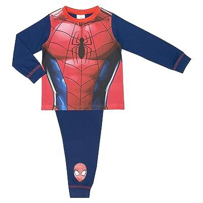 Cartoon Character Products Marvel Spiderman Novelty Boys Pyjamas Replica Design 2-8 Years
