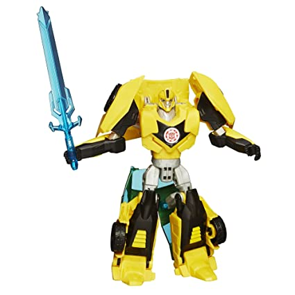 Amazon Com Transformers Robots In Disguise Warrior Class Bumblebee