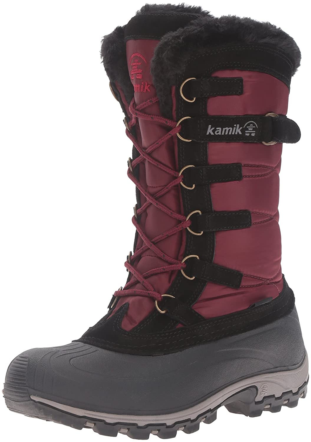 Kamik Women's Snowvalley Boot B0198WG1QC 7 B(M) US|Burgundy