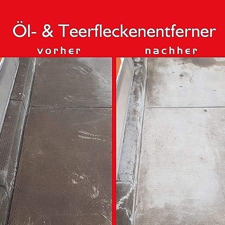 Brestol Öl Teerfleckenentferner 4x 400 Ml Sprühdose Ölfleckentferner Für Pflastersteine Parkplatzreiniger Werkstattboden Reiniger Auto