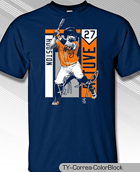 the latest 73cda 6ea44 JOSE ALTUVE, HOUSTON'S ALL STAR, YOUTH COLORBLOCK SHIRT