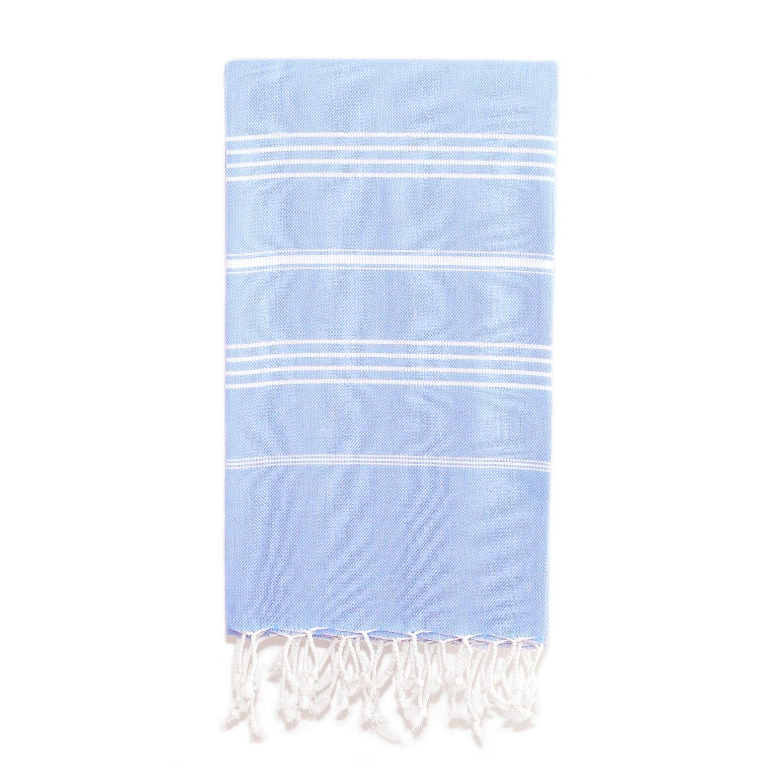 Linum Home Textiles Turkish Cotton Lucky Pestemal, Peshtemal, Fota Beach Bath Towel