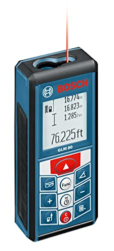 Bosch GLM 80 - Best Laser Distance Measure For Indoor Measuring