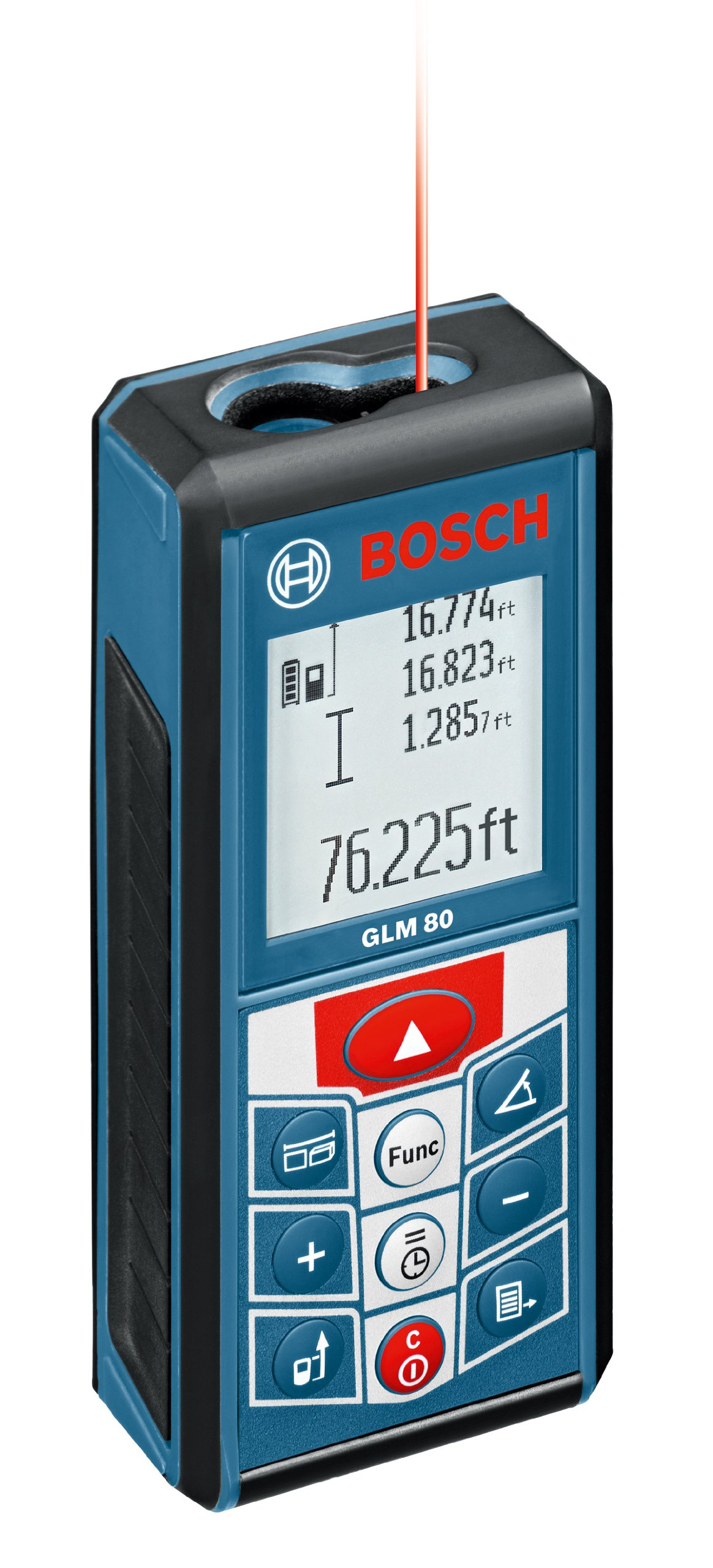 Bosch 265-Feet Lithium-Ion Laser Distance Measurer GLM 80