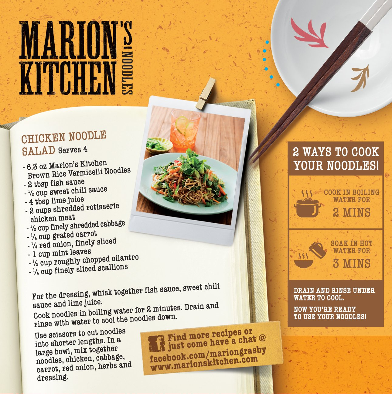 Amazon : Premium Brown Rice Vermicelli Noodles, Bulk 6 Pack, Marion's  Kitchen Whole Grain All Natural Gluten Free Noodles : Grocery & Gourmet Food