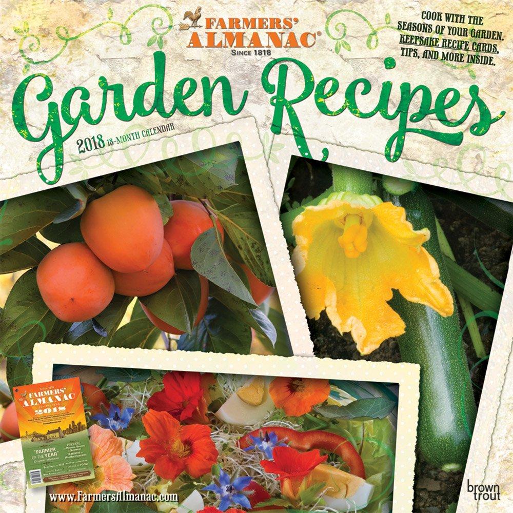 Farmers Almanac Garden Recipes 2018 Wall Calendar: Amazon.co.uk: BrownTrout  Publishers: Books