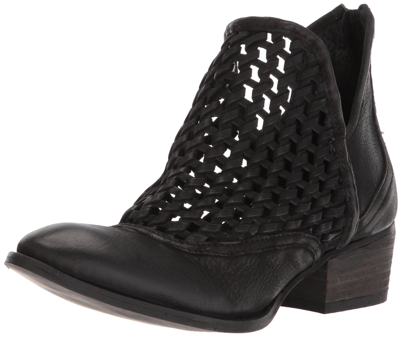 Very Volatile Women's Hudsun Ankle Boot, Black, 6.5 B US