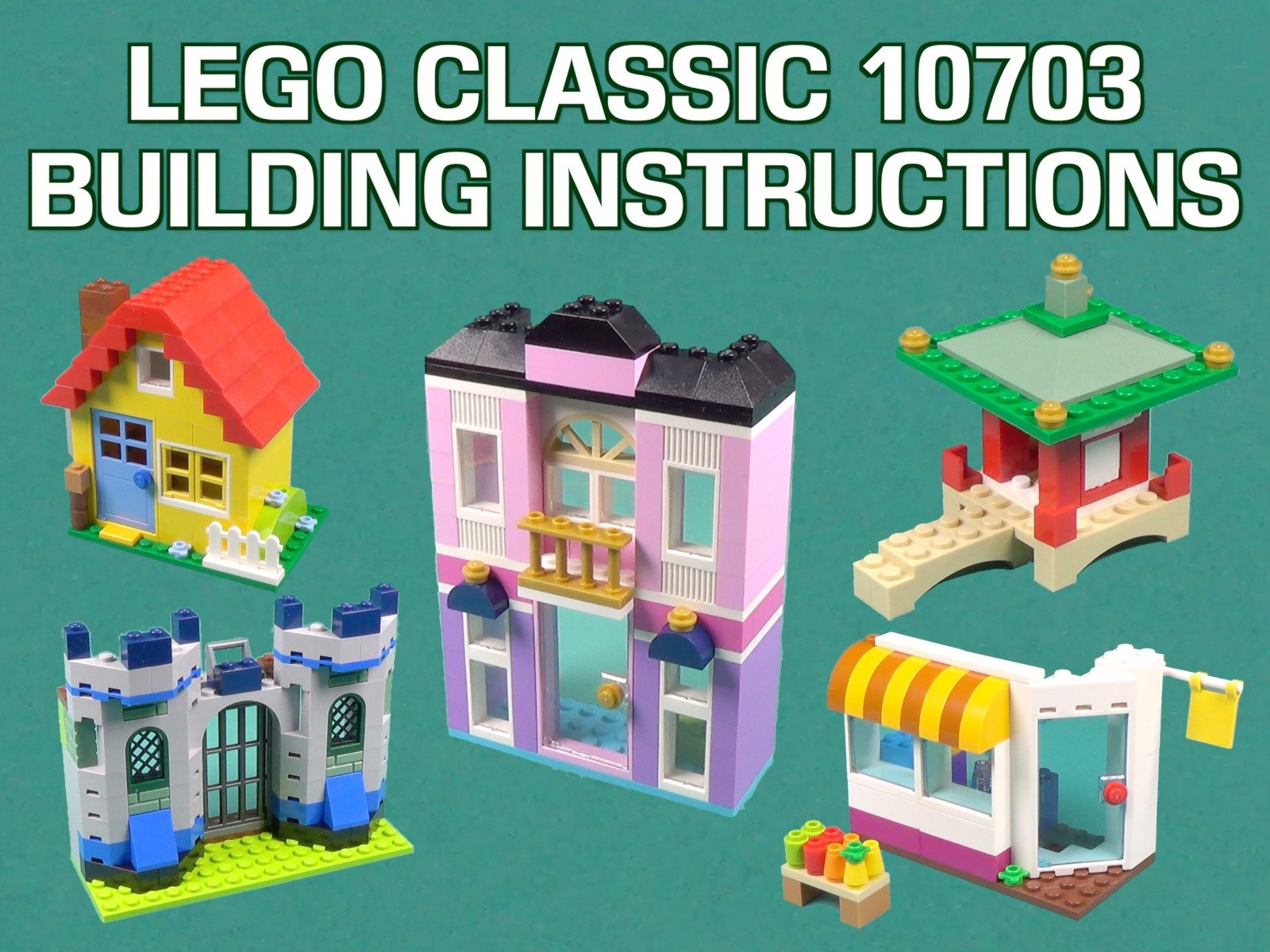 Amazon Lego Classic 10703 Building Instructions Id