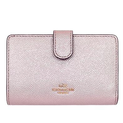 09f112f118cd Amazon   [コーチ] COACH 財布 (二つ折り財布) F23256 プラチナ IMLH4 ...