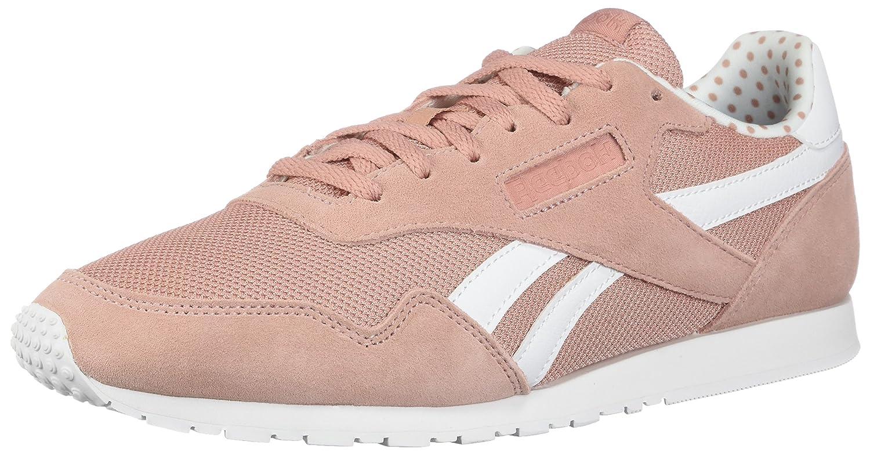 Reebok Frauen Niedrig & Mid Tops Schnuersenkel Laufschuhe Ss-chalk Pink/Weiß