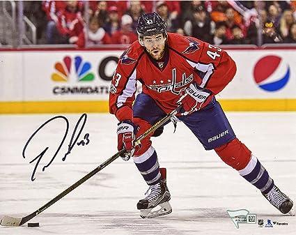 new arrivals 4a052 688b8 Tom Wilson Washington Capitals Autographed 8