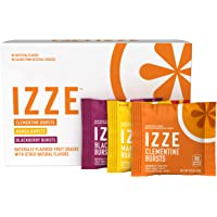IZZE 18 Count 8oz Bursts Organic Fruit Snacks 3 Flavor Variety Pack