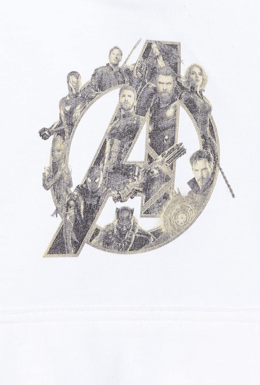 Marvel Infinity War Avengers Logo-Cappuccio Donna
