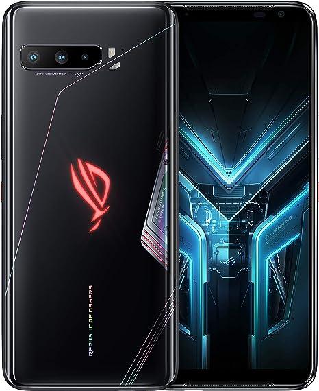 Amazon.com: Asus ROG Phone 3 512GB 12GB RAM 5G ZS661KS / I003DD SD865+ Global Version - Black Glare: Electronics