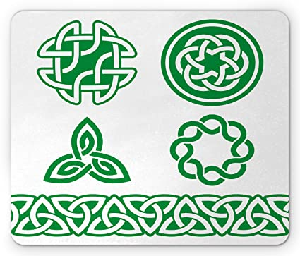 Amazon Irish Mouse Pad By Ambesonne Medieval Ancient Knots