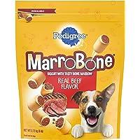 PEDIGREE MARROBONE Dog Treats Real Beef Flavor Crunchy Dog Biscuit, 6 lb. Pack