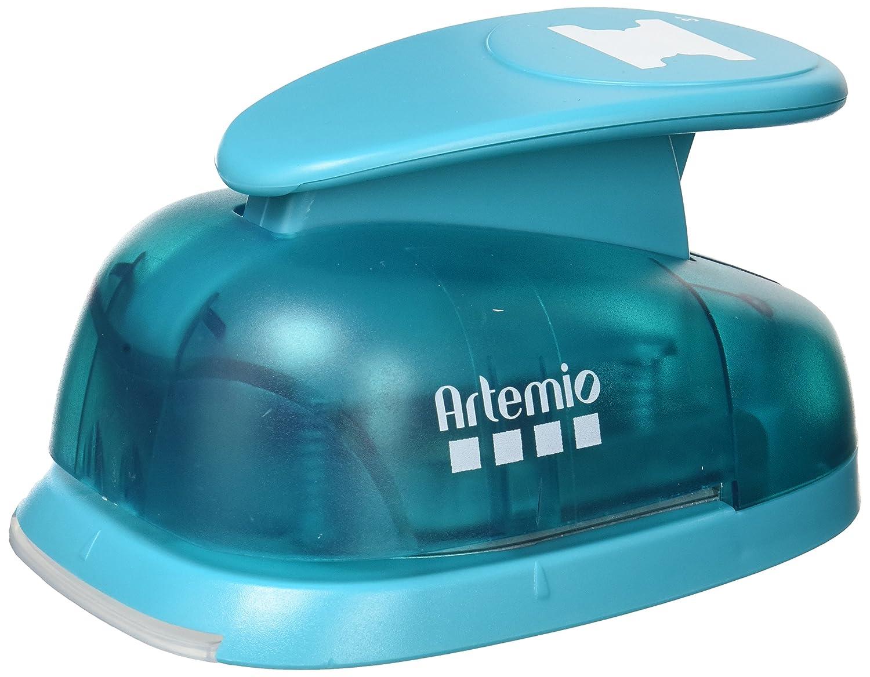 Artemio 7.6 cm Jumbo leva punch, blu VIHCP713
