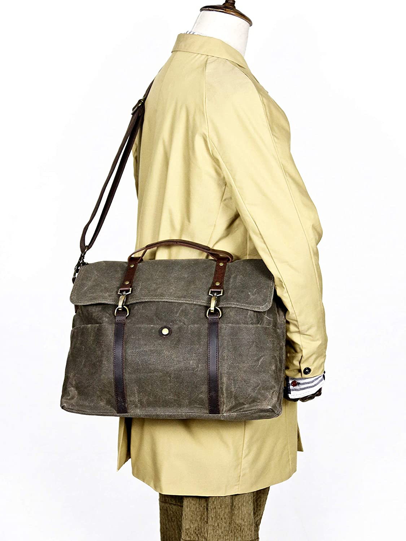 Classical Cambridge Messenger Bag Brown Buckled Messenger Bag