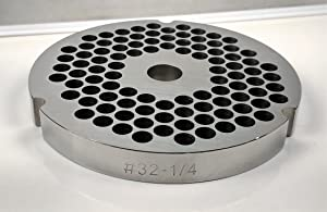 Food Service Knives #32 Meat Grinder Plate (1/4 in.)