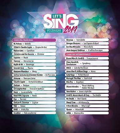 Let S Sing 2019 Hits Francais Et Internationaux Edizione