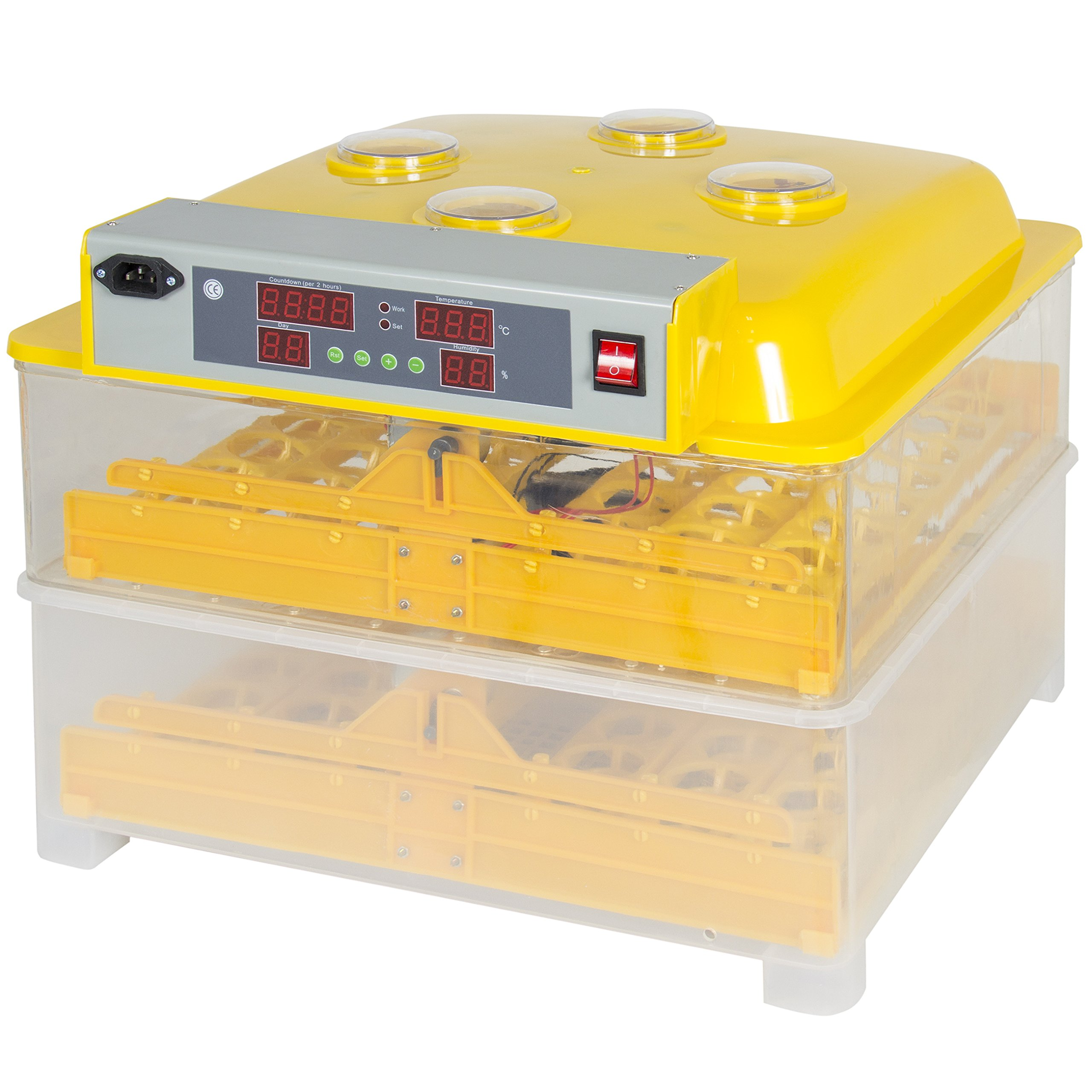 Best Choice Products 96 Digital Clear Egg Incubator Hatcher Automatic Egg Turning Temperature Control