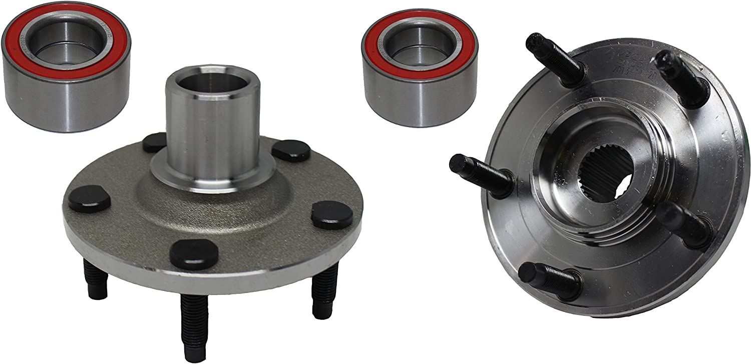 Detroit Axle 518515 Front Wheel Hub Bearing Assembly for Driver or Passenger Side Ford Escape Mazda Tribute Mercury Mariner 2001 2002 2003 2004 2005 2006 2007 2008 2009 2010 2011 2012.
