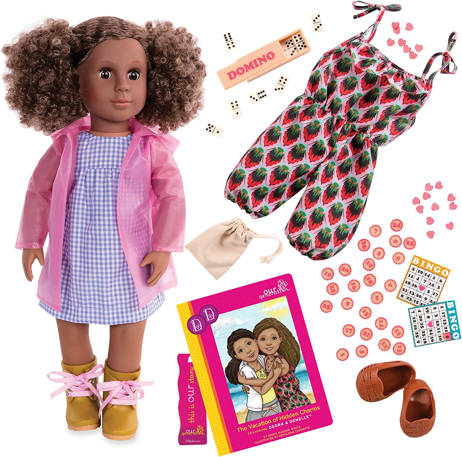 NEW OUR GENERATION DEDRA DELUXE DOLL  3