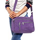 Femme Sac Bandouliere Besace Cartable Sacoche portable Nylon Casual sport