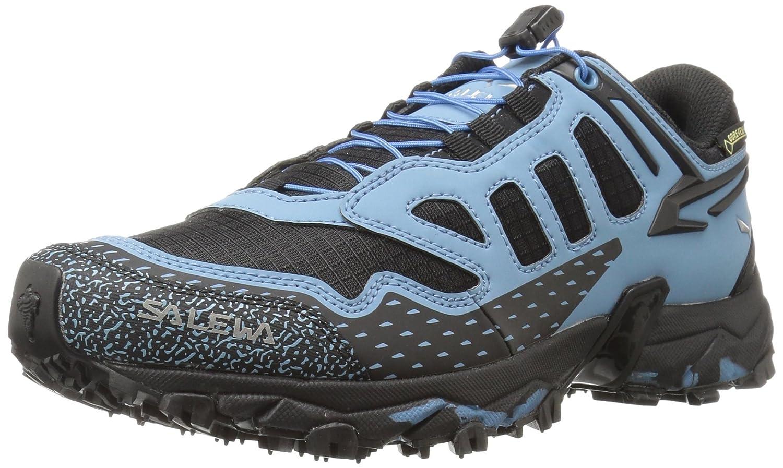 Womens Le Train Ultra Halbschuh Gore-tex Chaussures En Plein Air, Multisport Noir-bleu, 3 Uk Salewa