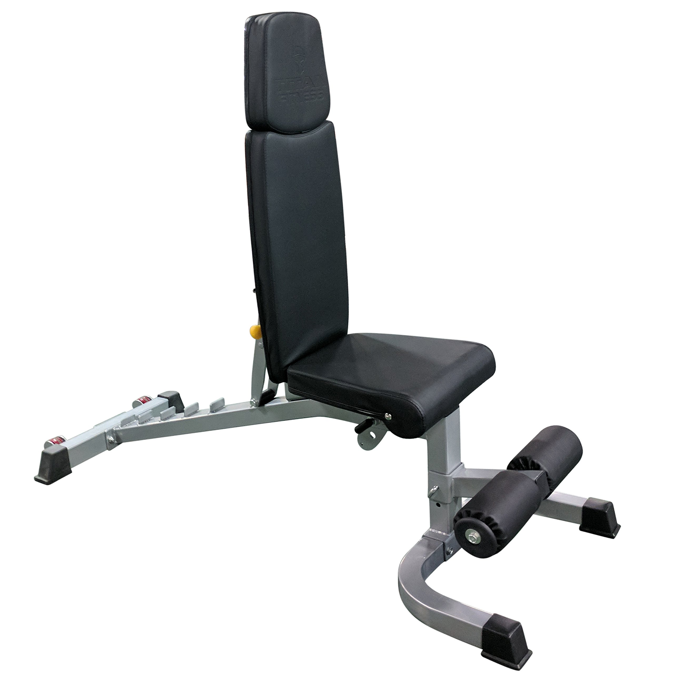 Titan Adjustable Weight Bench - 1000 LB Capacity - Incline Decline Flat by Titan Fitness