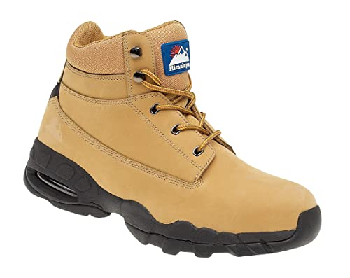 8b0db91ca78 Himalayan 4050 SBP SRA Wheat Leather Air Bubble Steel Toe Cap Safety ...
