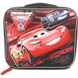 Disney Cars Boys Insulated School Lunch Bag with McQueen 3D Pop Up Molded Design