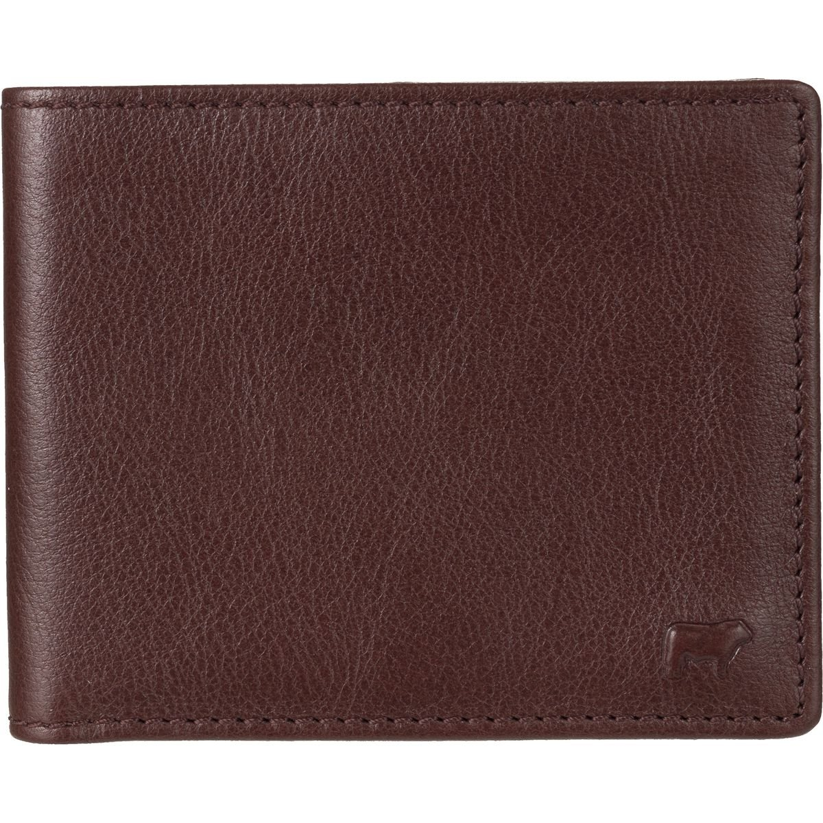 Will Leather Goods Classic Billfold Wallet Brown, One Size