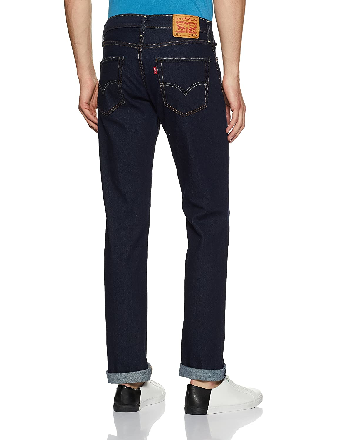 00aabaefbc3 Levi's Men's (511) Slim Fit Jeans: Amazon.in: Clothing & Accessories