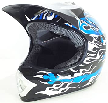 NIÑOS CASCO DE MOTO CASCO DE MOTOCROSS 3GO X14 JUNIOR PITBIKE CROSS QUAD ATV CASCO DE