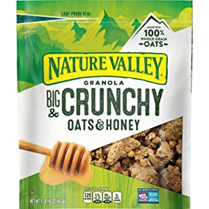Nature Valley Oats 'N Honey Granola Crunch, 16 Ounce (Pack of 3)