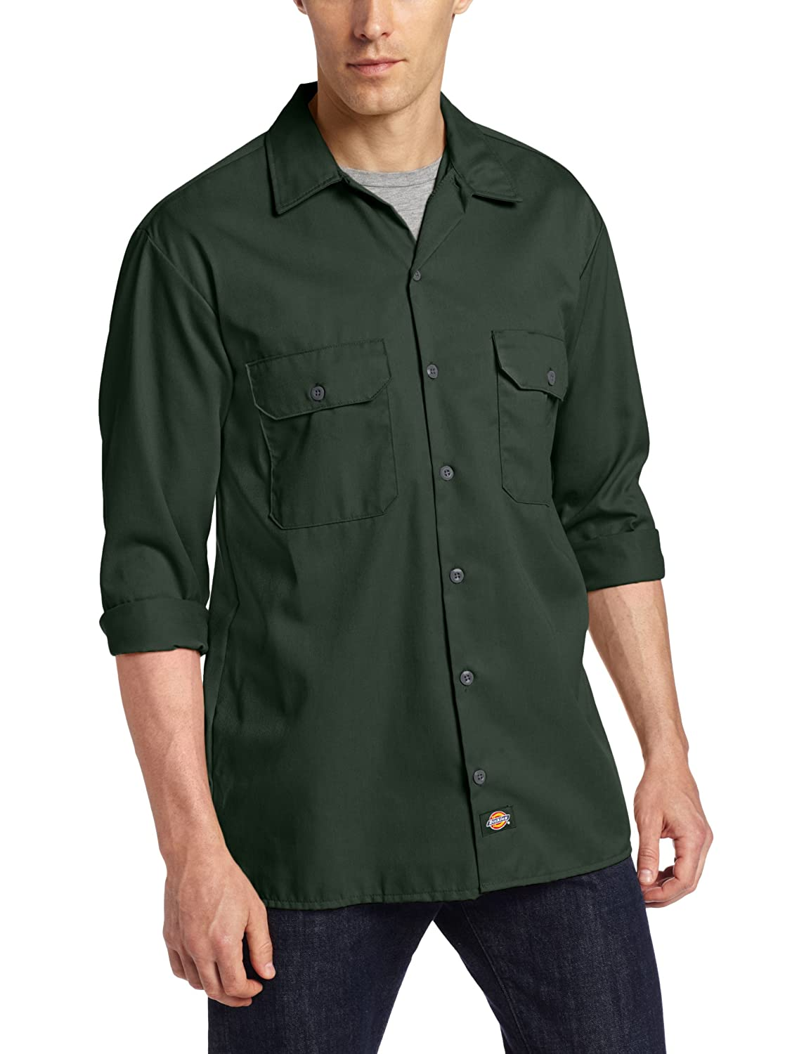 Dickies Men's Long Sleeve Work Shirt 574