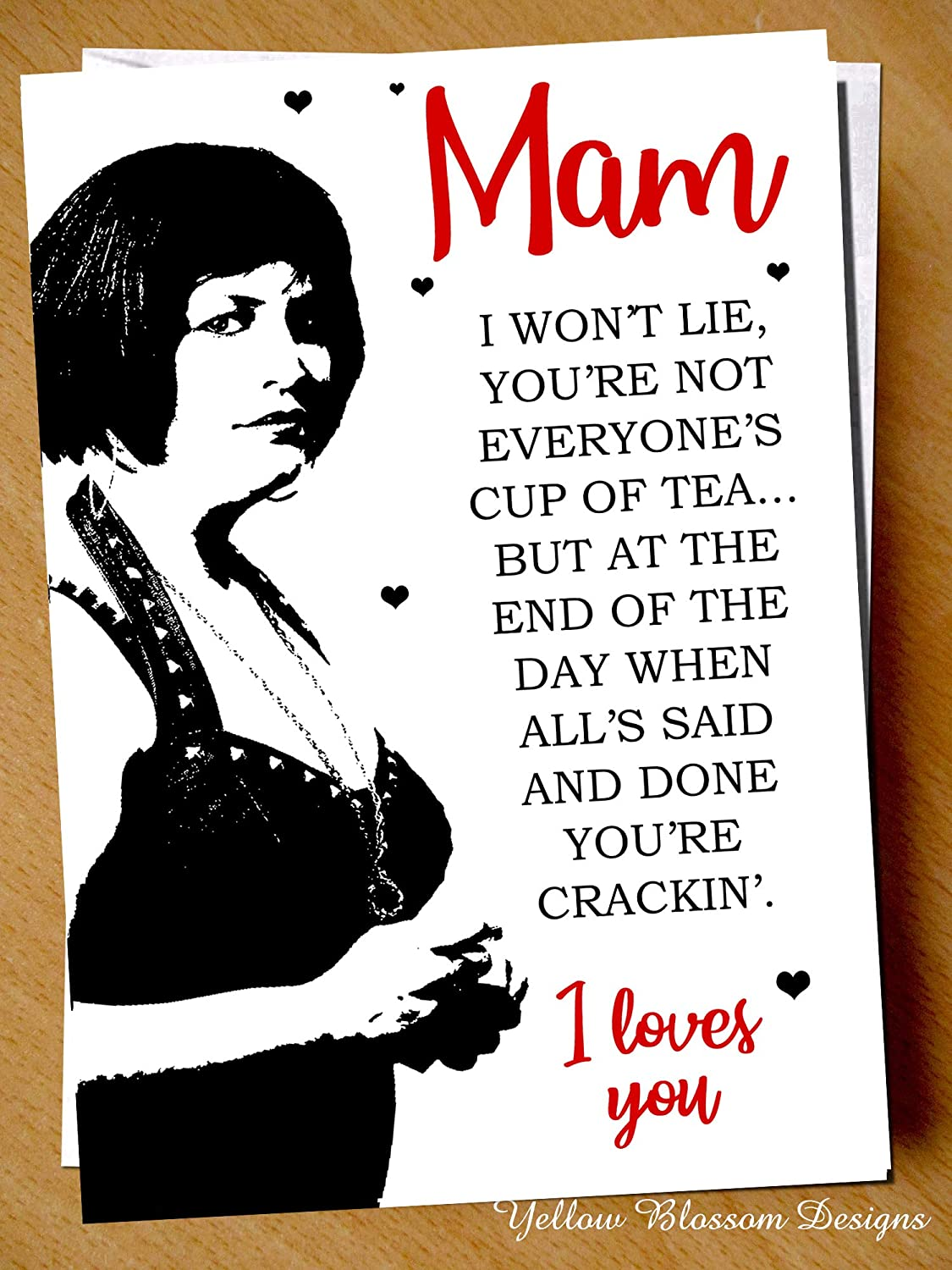 Funny Mothers Day Card I Loves You I Do!