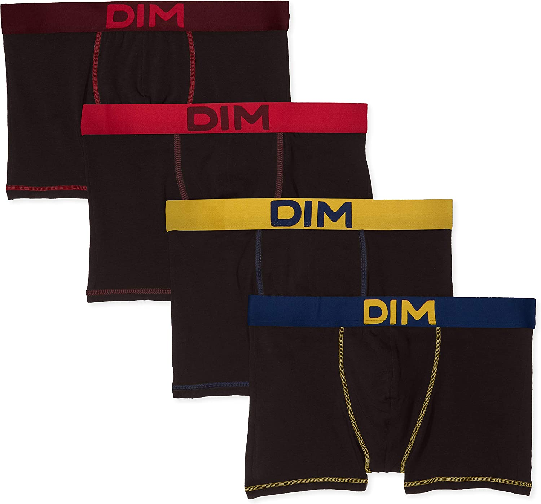 Dim Mix and Colors Boxers Homme Lot de 4