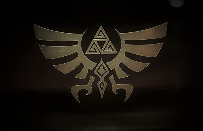 Amazon Legend Of Zelda Triforce Special In Gold Chrome 5 Decal