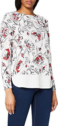 TALLA XS. ESPRIT Collection Camisa Manga Larga para Mujer