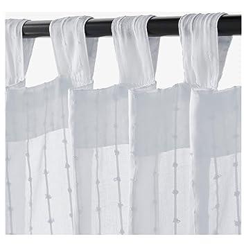 Ikea Matilda Vorhang 1 Paar Weiss 10111984