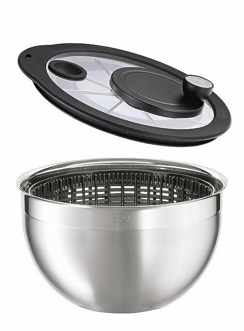 3 opinioni per Rösle- Centrifuga per insalata con coperchio di vetro