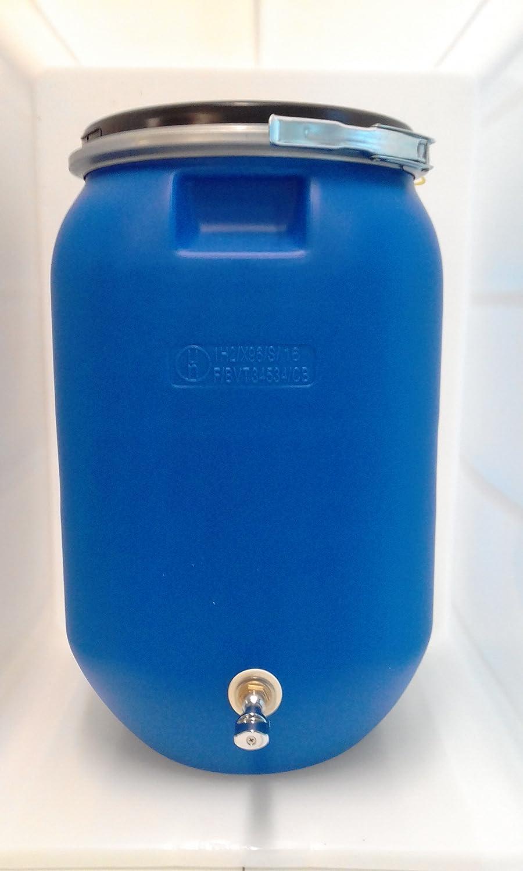 PLASTICOS HELGUEFER-Bidon 60 con grifo metalico