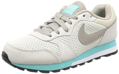 huge discount 7656f 38ea5 Nike 749869 101, Zapatillas de Deporte para Mujer, Blanco (White), 37.5 EU   Amazon.es  Zapatos y complementos