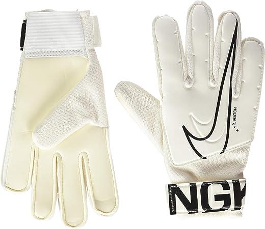 Nike Unisex Child Gk Match Jr-Fa19 Performnace Gloves - White, 3