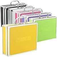 Aluminium koffer box in verschillende kleuren met schuimvulling geel